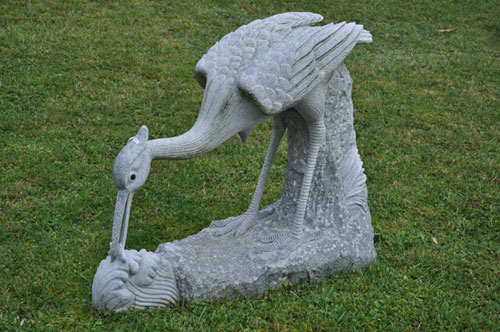 Gartenfigur aus Stein