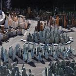 Luftbild Ausstellung Felsen