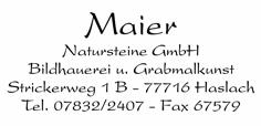 Logo von Maier Natursteine GmbH