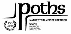 Logo von Poths Steinmetzbetrieb GmbH