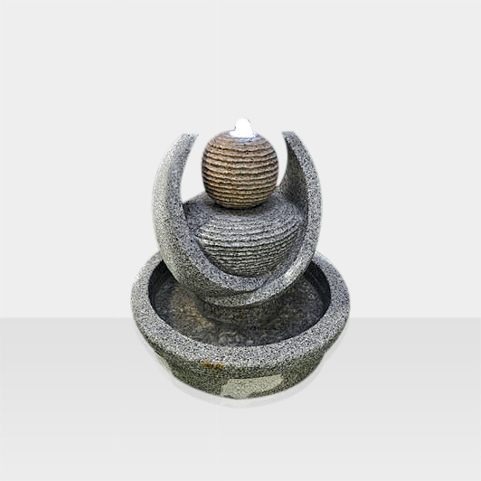 Brunnen aus Naturstein Modell Avantgarde Brunnen Skulptur