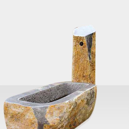 Brunnen aus Naturstein Modell Brunnen aus Naturstein