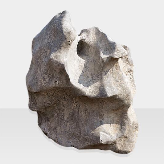 Naturbelassener Quellstein als Brunnen 2