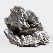 Brunnen aus Naturstein Modell Quellstein mit Schwamm-Optik-2