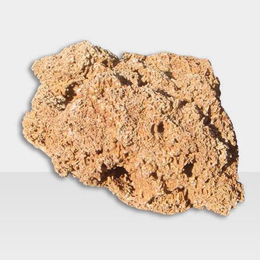 Dekostein mit rauer Oberfläche