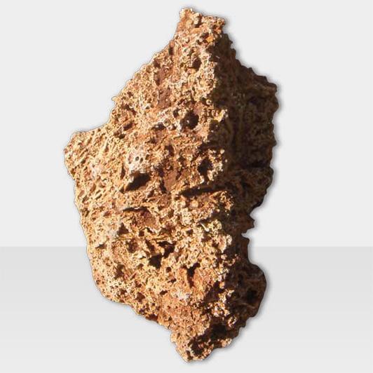 Dekosteine & Zierkies Modell Gartenstein mit rauer Oberfläche