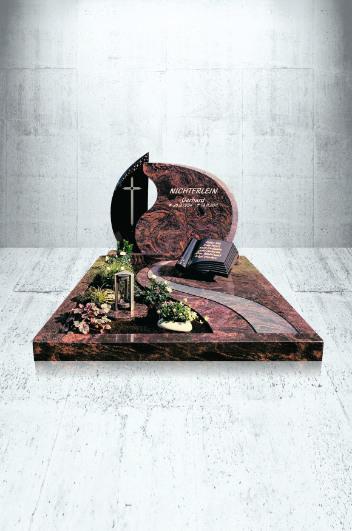 Grabanlagen Familiengrab Modell Familiengrabanlage mit EX 1091 und B 12