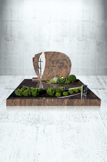 Grabanlagen Familiengrab Modell Familiengrabanlage mit EX 1613