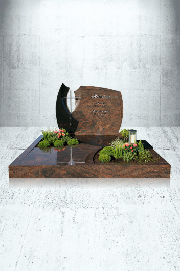 Grabanlagen Familiengrab Modell Familiengrabanlage mit EX 1714