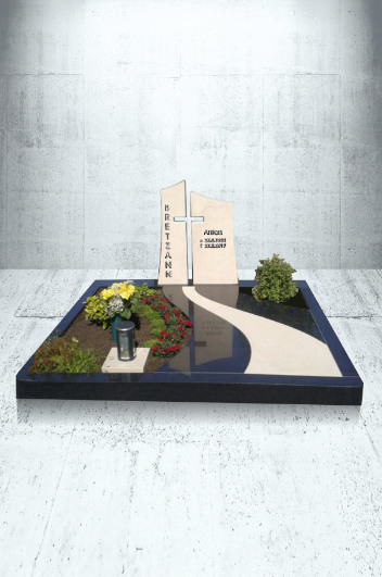 Grabanlagen Familiengrab Modell Familiengrabanlage nach Kundenentwurf